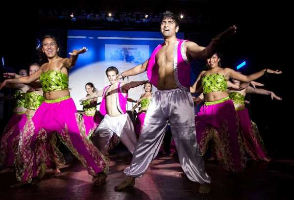 Courtesy of University of Cincinnati / 14 teams were divided into Raas and Fusion, and they competed for a chance at first place in their respective categories; the competition itself was held by Tech and saw an impressive turnout.