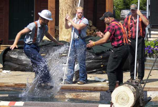 Photo Courtesy of The Great Alaskan Lumberjack Show
