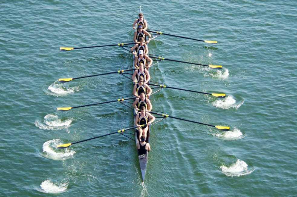 racing rowing boat