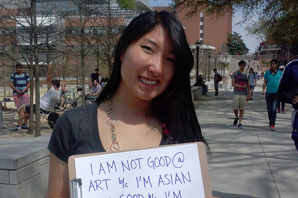 Asian face differences