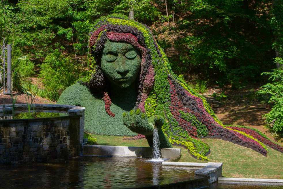 Botanical Gardens Create Local Wonderland