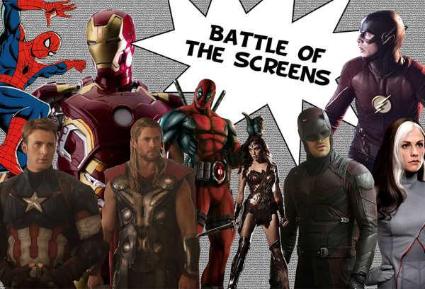 Photos courtesy of Warner Bros., DC Entertainment, Marvel Studios, 20th Century Fox, ABC Studios, Marvel Entertainment; Design by Ansley Marks