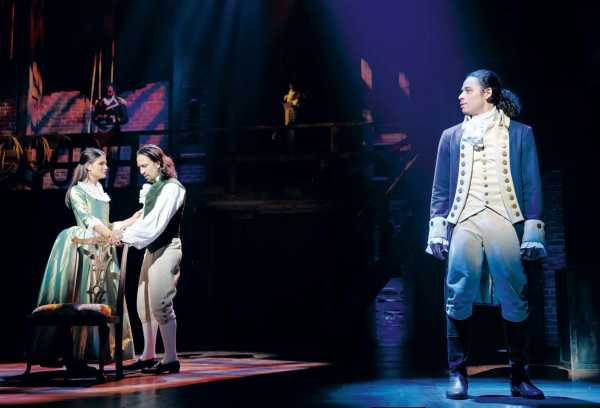 Photo courtesy of Hamilton: An American Musical