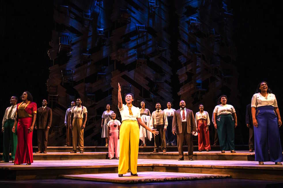 "Lyric color purple lyrics : The Color Purple"" cast impresses Fox audience 