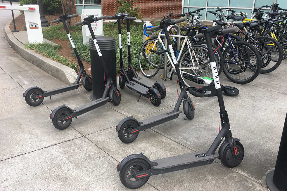 GTPD begins ticketing electric scooters, bikes for violating Georgia